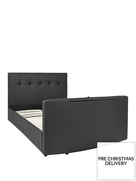 rialto-faux-leather-tv-bed-with-bluetooth-usb-charging-and-mattress-options-buy-and-save