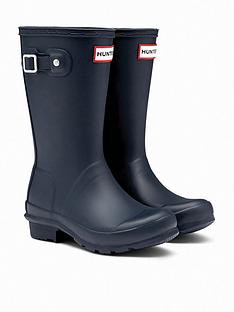 hunter-original-kids-wellington-boots-navy