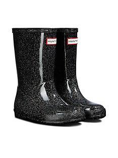 hunter-original-infant-first-classic-starcloud-wellington-boots-black