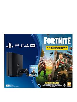 playstation-4-pro-fortnite-royal-bomber-skin-1tbnbspconsole-bundle-with-500-v-bucksnbspand-optional-extras