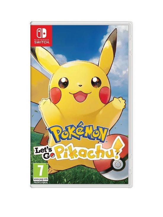 a64a292834 Nintendo Switch Pokemon: Let's Go! Pikachu! - Switch | very.co.uk