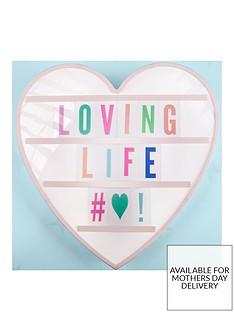 fizz-heart-shaped-message-board