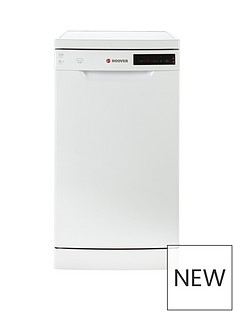 Hoover HDP2D1049W 10-Place Slimline Dishwasher - White Best Price, Cheapest Prices
