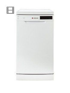 Hoover HDP2D1049W 10-Place Slimline Dishwasher - White