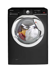 Hoover Dynamic NextWDXOA4106HCB 10kg Wash,6kgDry, 1400 Spin Washer Dryer with One Touch - Black
