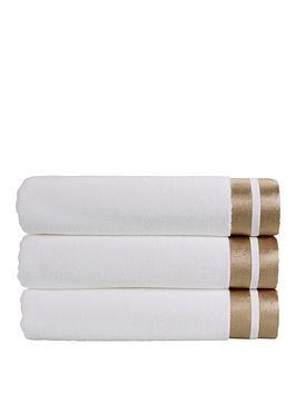 christy-mode-metallicsnbspcotton-zero-twist-towel-collection-ndash-white-gold