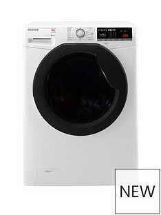 Hoover DXOA412AFN Dynamic Next Premium 12kg Load, 1400 Spin Washing Machine with One Touch - White