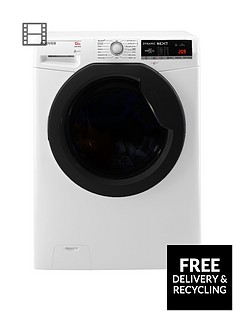 Hoover DXOA412AHFN Dynamic Next Premium 12kg Load, 1400 Spin Washing Machine with One Touch - White