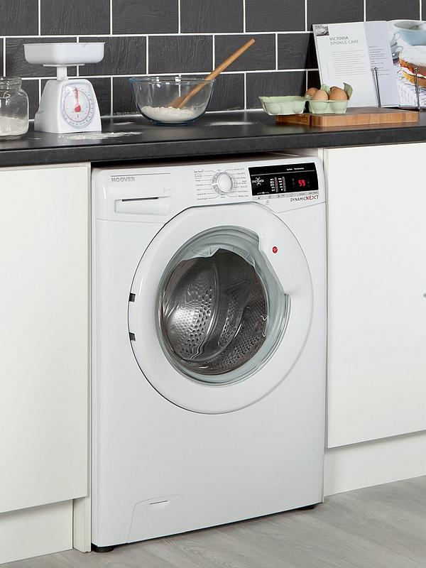 Dynamic Next DXOA69LW3 9kg Load, 1600 Spin Washing Machine with One Touch -  White