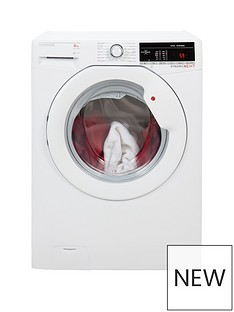 Hoover Dynamic Next DXOA148TLW3 8kg Load, 1400 Spin Washing Machine - White
