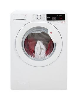 hoover-dynamic-next-dxoa148tlw3-8kg-load-1400-spin-washing-machine-with-one-touch-white