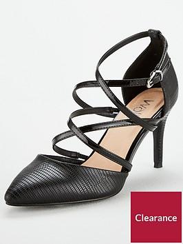 wallis-multi-strap-court-shoe-black
