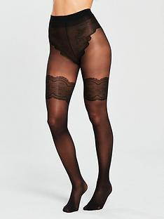 pretty-polly-back-seam-tights-with-body-detail-black