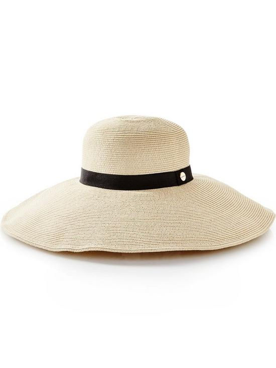 777abc6ee2ce8 SEAFOLLY Shady Lady Packable Wide Brim Hat - Natural