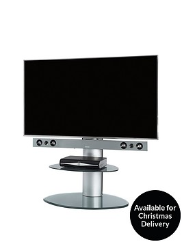 off-the-wall-motion-cantilever-stand-silver-with-silver-glass-fits-up-to-65-inch-tv