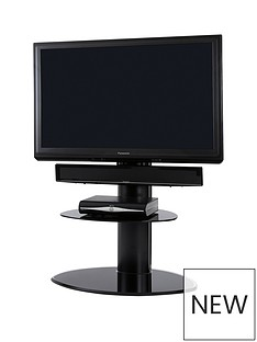 off-the-wall-motion-cantilever-tv-stand-blackblack-glass-fits-up-to-65-inch-tv