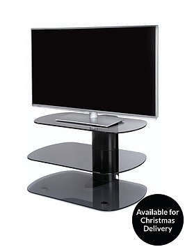 off-the-wall-skyline-80-cm-tv-stand-blackgrey-glass-fits-up-to-32-inch-tv