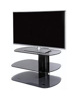 off-the-wall-skyline-80-cm-tv-stand-blackgrey-glass-fits-up-to-43-inch-tv