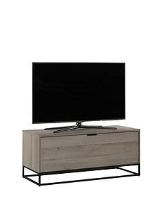 Off The Wall Cube 110 cm TV Cabinet - Oak Effect - fits up to 50 inch TV