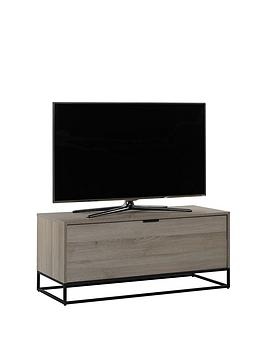 off-the-wall-cube-110-cm-tv-cabinet-oak-effect-fits-up-to-55-inch-tv