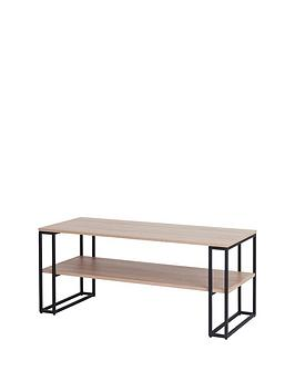 off-the-wall-cube-110-cm-open-tv-standcoffee-table-metaloak-effect-fits-up-to-55-inch-tv
