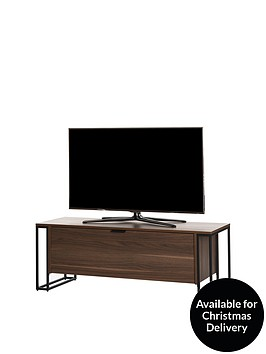 off-the-wall-cube-130-cm-tv-cabinet-walnut-effect-fits-up-to-60-inch-tv