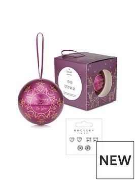 buckley-london-buckley-london-sterling-silver-amp-cubic-zirconia-stud-earrings-in-christmas-bauble-gift