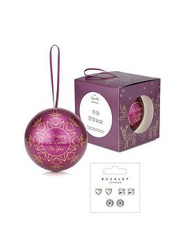 buckley-london-silver-amp-cubic-zirconia-stud-earrings-in-christmas-bauble-gift-set
