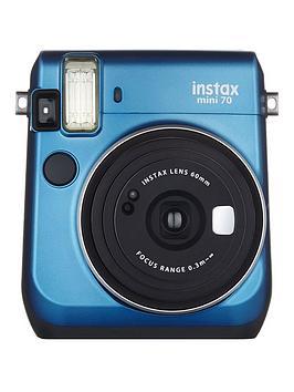 fujifilm-instax-mini-70-instant-cameranbspwith-10-or-30-pack-of-paper-blue