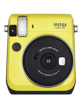 fujifilm-instax-mini-70-instant-cameranbspwith-10-or-30-pack-of-paper-yellow