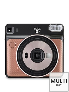 fujifilm-instax-square-sq6-instant-camera-with-optional-10-or-30-pack-of-paper--nbspblush-gold