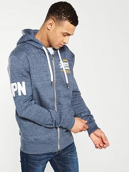 superdry-premium-goods-duo-zip-hoodie-pacific-blue