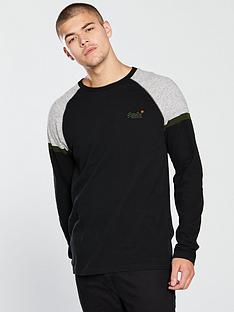 superdry-o-l-engdnbspsleeve-baseball-t-shirt-black