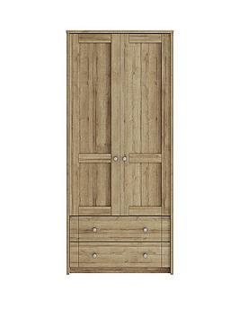 consort-bronte-ready-assembled-2-door-2-drawer-wardrobe