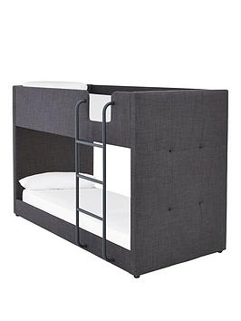 Lubana Fabric Bunk Bed Frame With Mattress Options (Buy And Save!) - Bed Frame Only