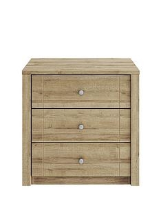 Consort BronteReady Assembled 3 Drawer Wide Chest