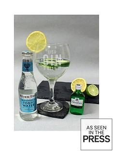 personalised-gin-ampnbspbear-it-glass-with-miniaturenbspgin-ampnbspmixer
