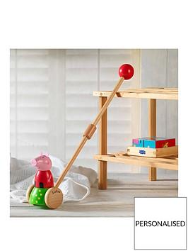 peppa-pig-personalised-peppa-pig-wooden-push-along