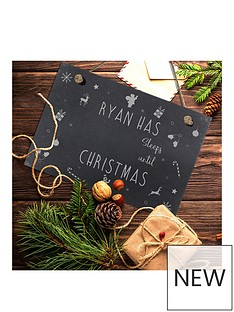personalised-sleeps-until-christmas-hanging-slate-sign