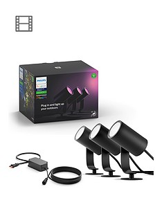 philips-hue-outdoor-lily-garden-spotlight-setnbsp3x-8w-base-unit