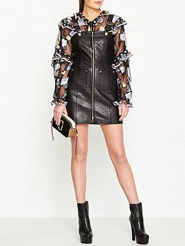alice-mccall-cherry-on-baby-leather-dungaree-dress-black