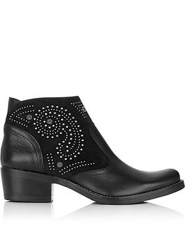 kanna-kelly-stud-detail-leather-and-suede-ankle-boots-black