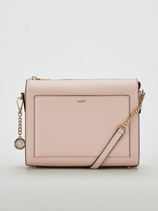 4e125120329d DKNY Bryant Sutton Medium Box Crossbody Bag - Blush