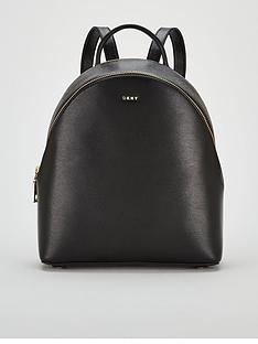 dkny-bryant-sutton-medium-backpack-blackgoldnbsp
