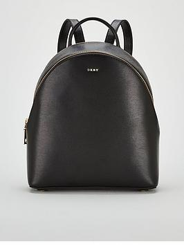 dkny-bryant-sutton-medium-backpack-blackgoldnbsp