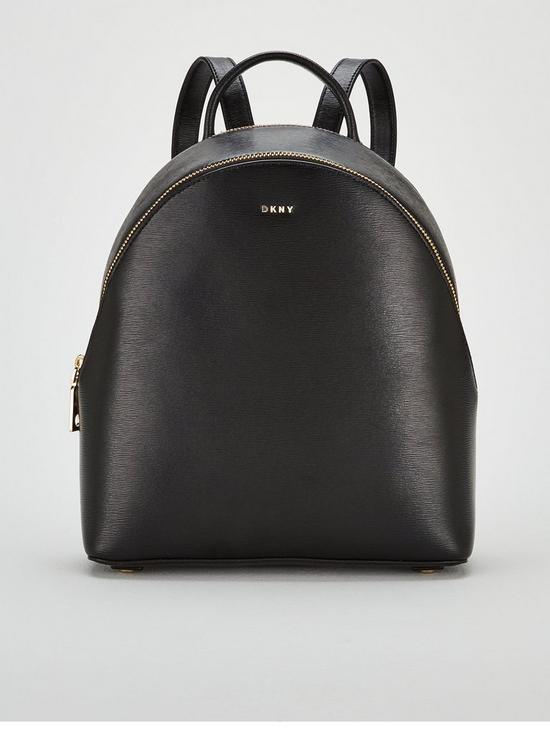 17ff3b7e5d DKNY Bryant Sutton Medium Backpack - Black Gold
