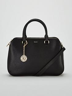 dkny-bryant-sutton-medium-satchel-bag-black