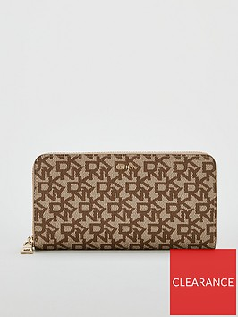 dkny-bryant-large-zip-around-purse-printed