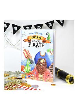 Personalised Hardback Pirate Book In A Gift Box