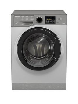 Hotpoint Aquarius Fdl9640G 9Kg Wash, 6Kg Dry, 1400 Spin Washer Dryer - Graphite